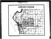 Spring Creek Township, Rossville, Piqua, Hunterville, Miami County 1883